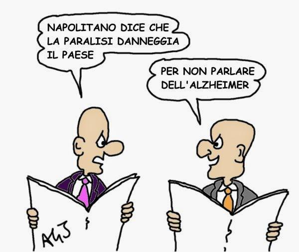 Napolitano vignetta