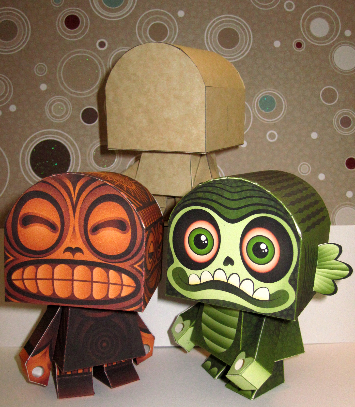 2012 Halloween Paper Toys Macula