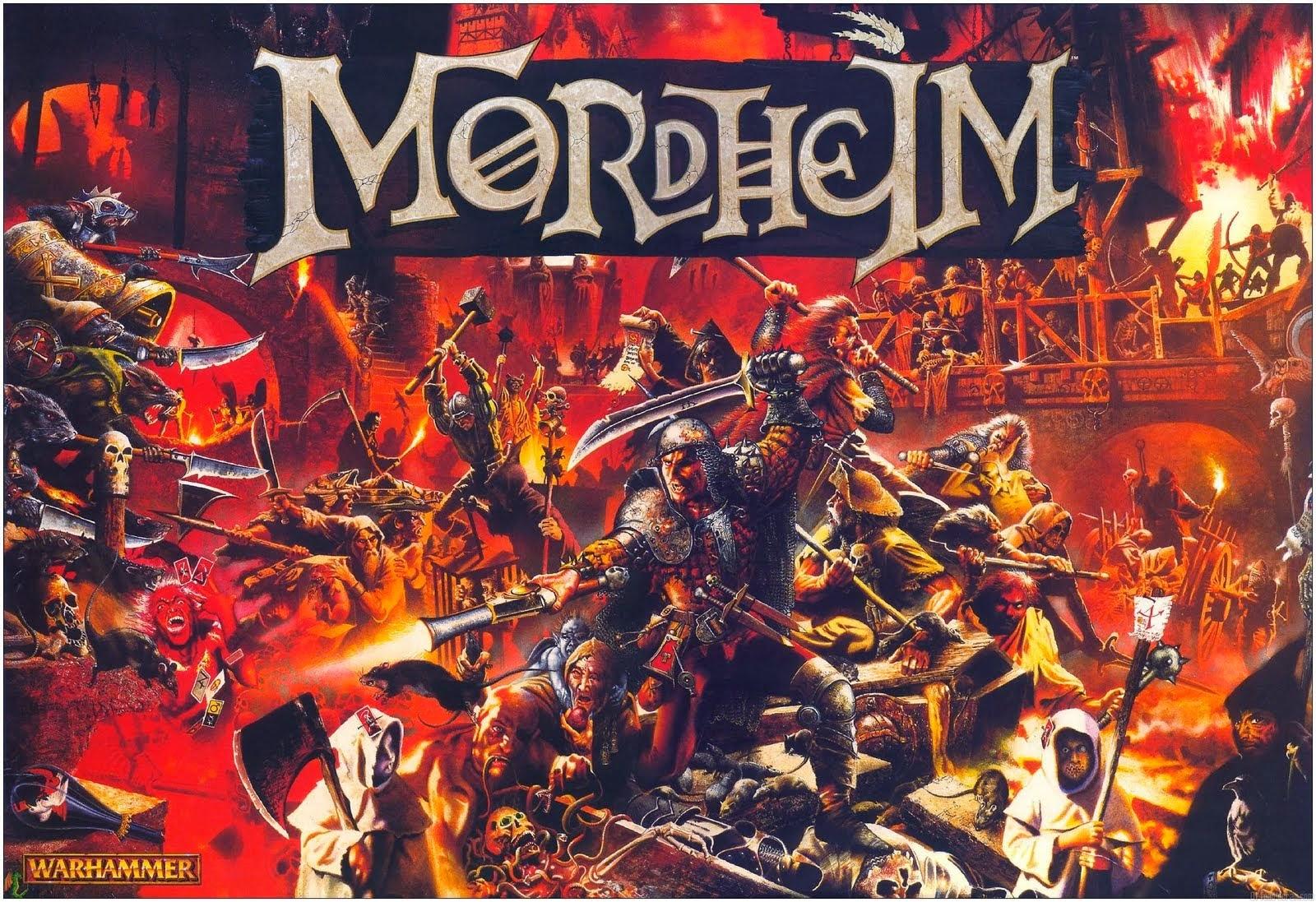 Portada de la caja de Mordheim