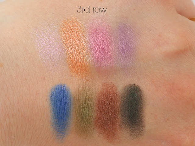 3rd row swatches