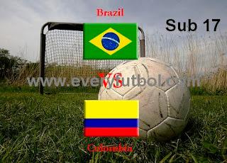 Partido Colombia Vs Brasil Sub 17