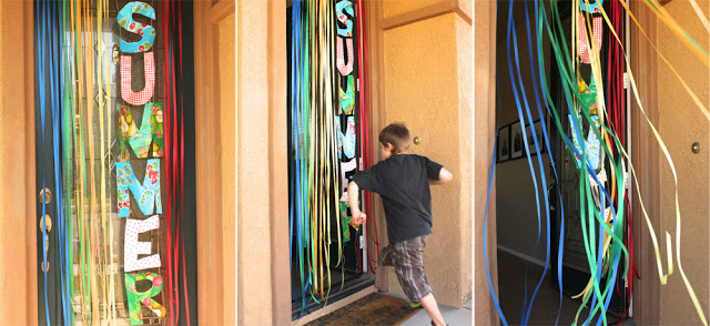 last day of school door banner tutorial