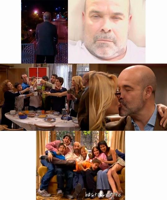Sueño de Diego Serrano, suicidio, Los Serrano, Telecinco, serie final, finales de series
