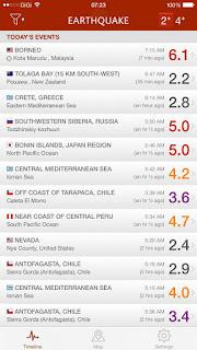 gempa bumi,ranau,sabah,5jun2015,gegaran terkuat diranau sabah