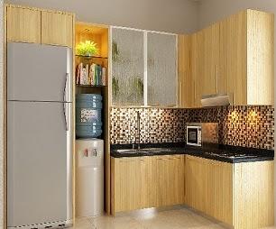 Memilih kitchen set minimalis untuk dapur kecil dapur modern for Kitchen set lurus
