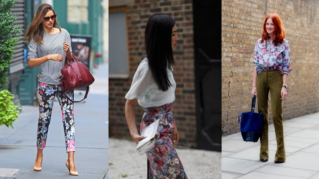 STREET STYLE + COLLAGE :FLORAL COMO COMBINAR?