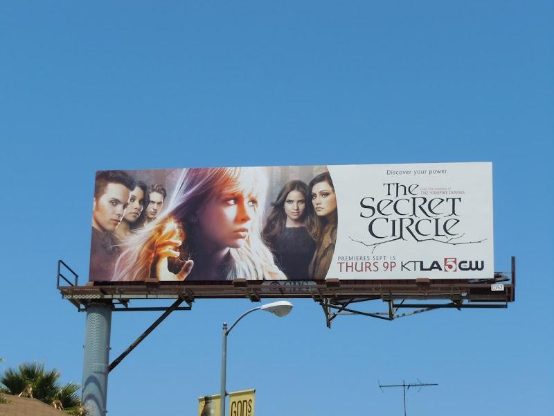 The Secret Circle billboard
