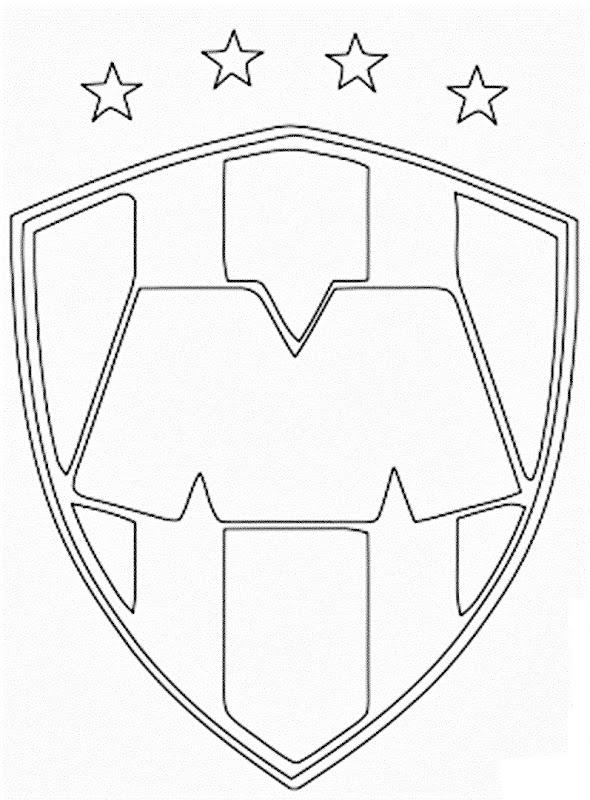 Escudo Rayados De Monterrey