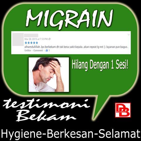 Testimoni Migrain
