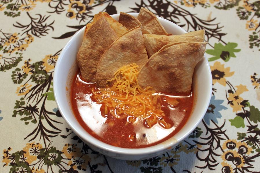 mohaus: Crock Pot Chicken Enchilada Soup