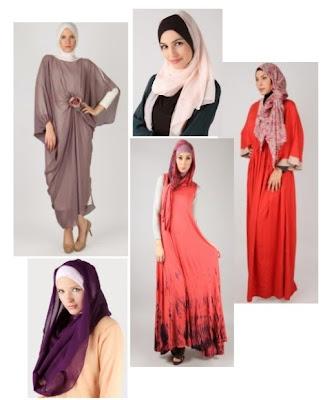 Model baju wanita modern trend lebaran masa kini