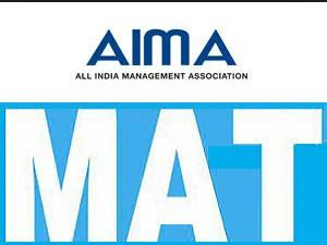 AIMA MAT - September 2013 Notification