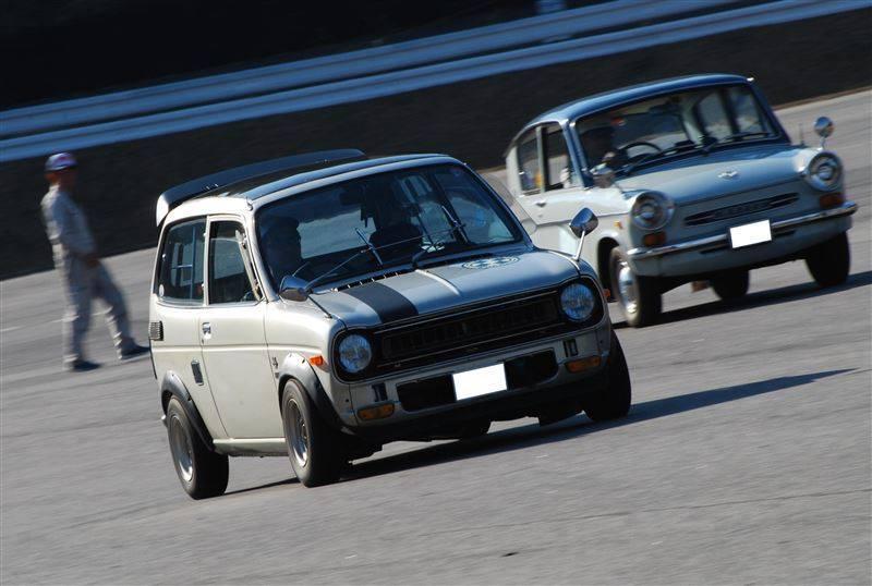 Honda Life & Mazda Carol, małe samochody, kei car, wyścigi, sport, dawna motoryzacja