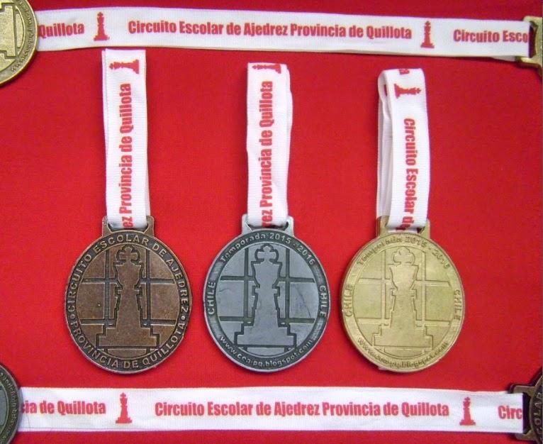 TROFEOS OFICIALES CEA-PQ TEMPORADAS 2015-2016