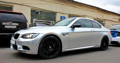 BMW M3 Matte Chrome Wrap