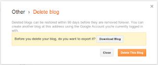 mengembalikan blog terhapus