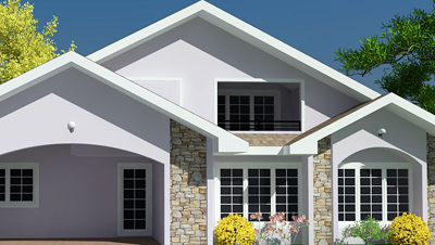 House Plan by certified Ghanaian engineers and architects