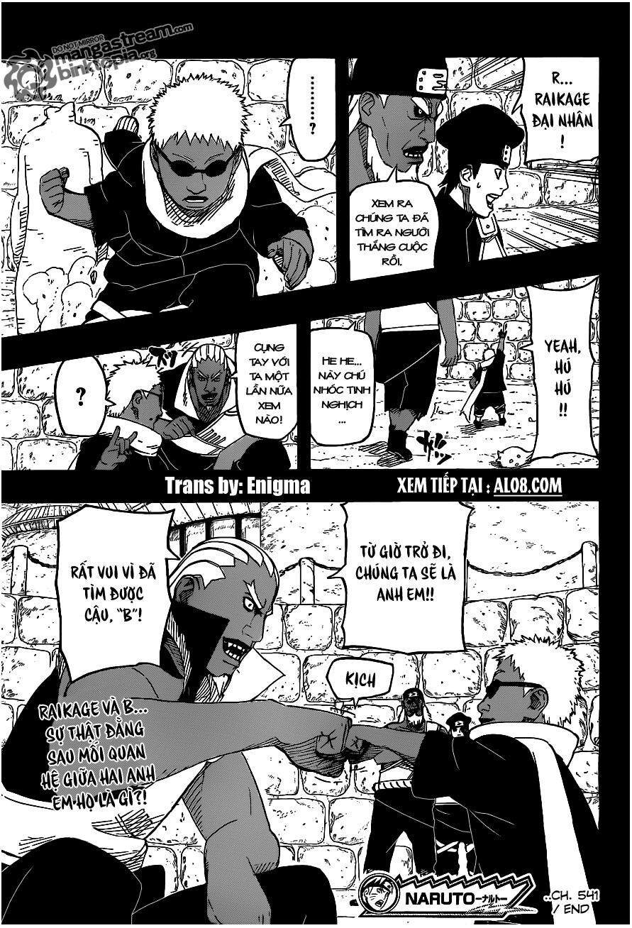 Naruto chap 541 Trang 18 - Mangak.info