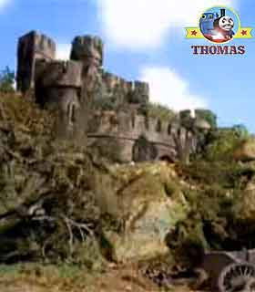 Thomas and friends Toby's Discovery ahead was the highland Scottish splendid fortified noble castle