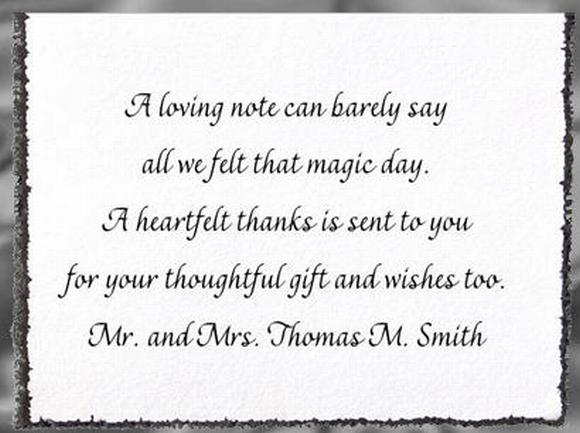How To Find the Right Wording for Wedding Thank You Cards – Wording for Wedding Thank You Cards