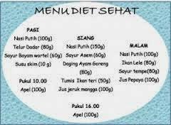 Inilah menu makanan sehat setiap hari