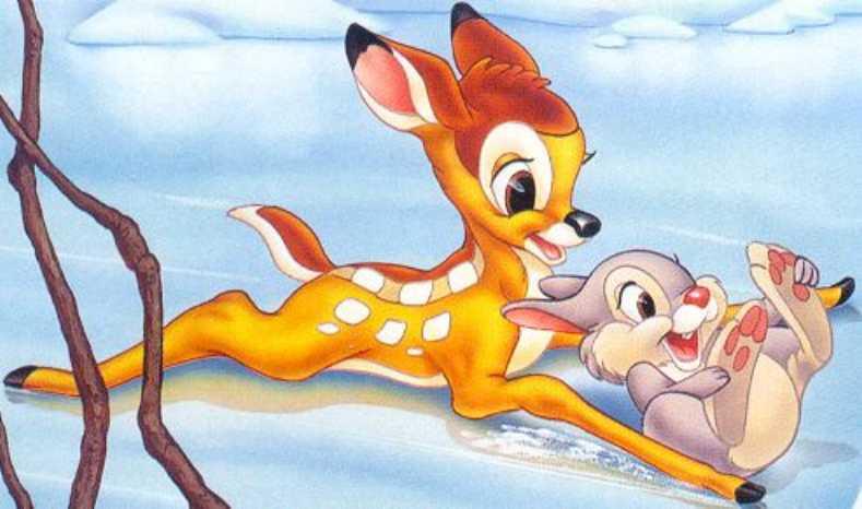 Imagenes de dibujos animados bambi