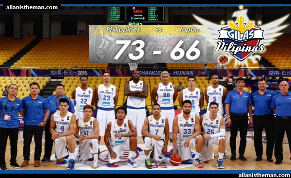 Gilas Pilipinas escapes Japan 73-66 in FIBA Asia 2015 2nd round (VIDEO)