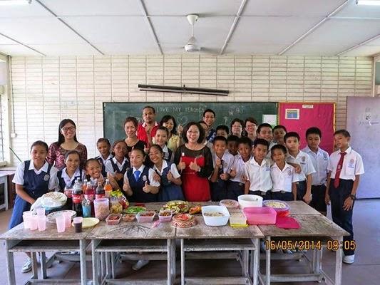2014年山打根政民小学教师节