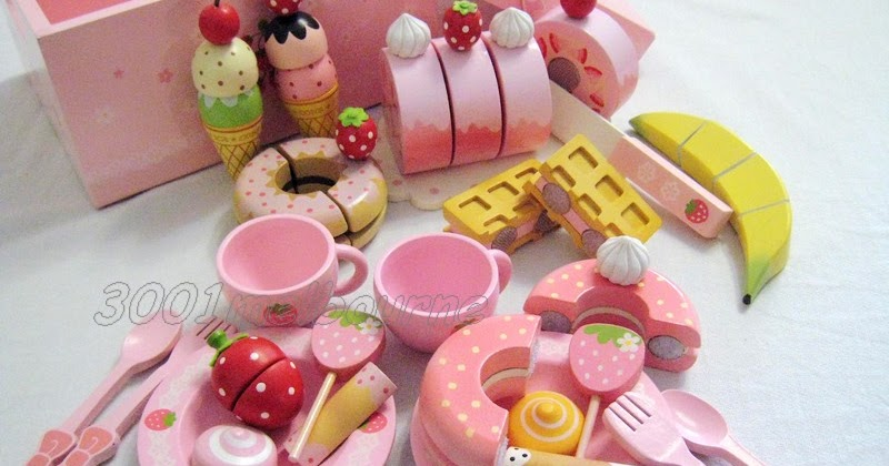 3001melbourne Mother Garden Strawberry Sweet Cafe Playset
