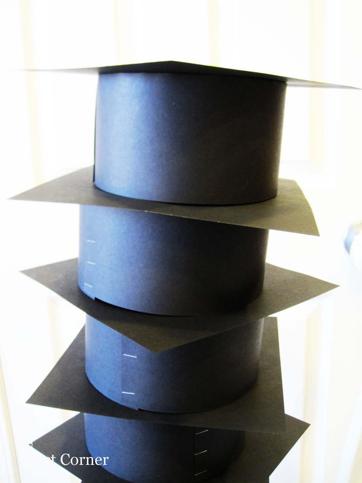 paper graduation caps Our black paper grad cap is perfect as a decoration for graduation parties make sure to get plenty for all your grad party guests to wear in honor of your recent graduate one size fits most.