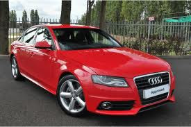 Red Color 2012 Audi A4 Diesel 2.0 Tdi