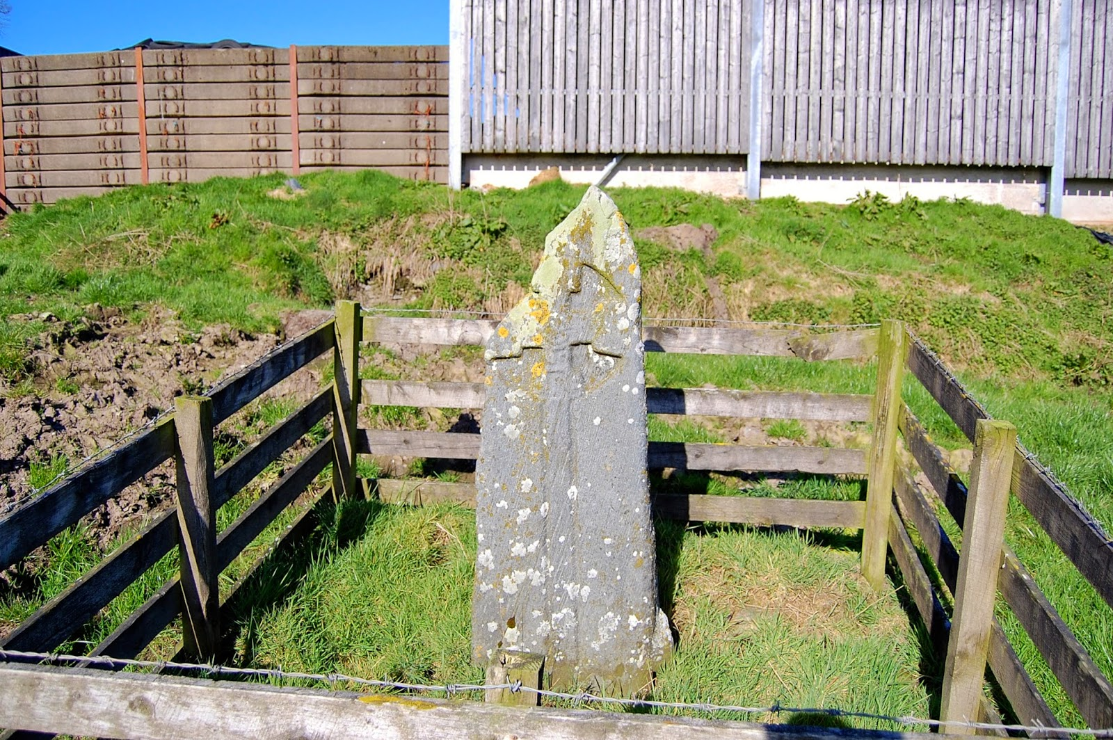 St. Colmac's cross