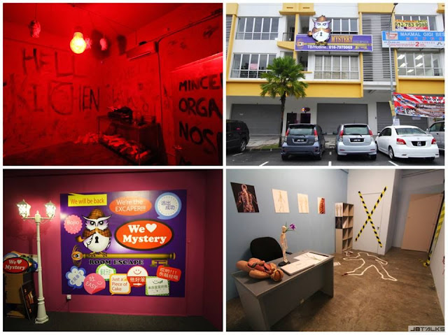 mystery escape game sutera utama branch