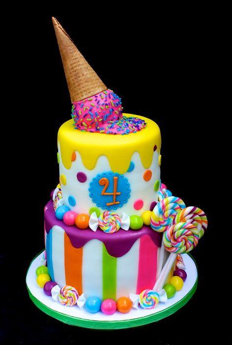 Sweets Birthday Cake Images : Fiesta estilo Candy Party: Una Decoracion dulce para tus ...