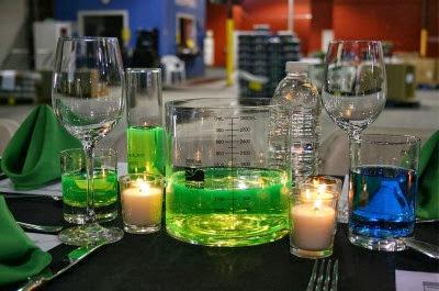 It's Halloweek! Frankenstein party ideas Mad Scientist's table