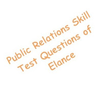 public relations skill test questions of elance