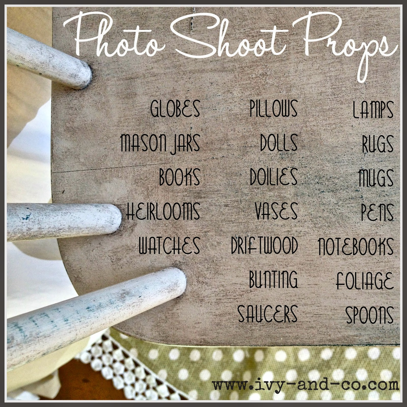 photo shoot props tips for staging your photos