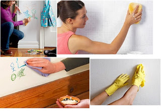 Menjaga Dinding Putih Agar Tetap Bersih