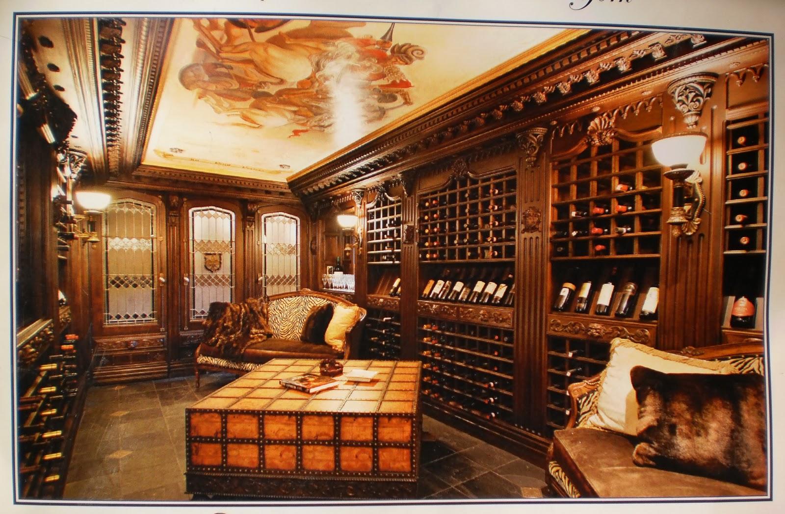 A whole lotta love wine cellar dreams for House wine cellar