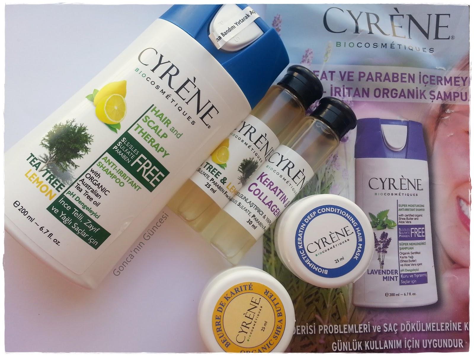 Cyrene Tea Tree & Lemon Shampoo // Çay Ağacı ve Limon Özlü Şampuan