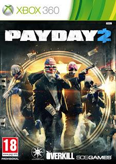 payday 2 retail european box art xbox 360  PayDay 2 (360/PS3)   Retail Release Announced + European Box Art