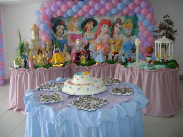 DECORA u00c7ÃO DE FESTA INFANTIL DAS PRINCESAS ~ imagens para celular -> Decoração De Festa Das Princesas Da Disney
