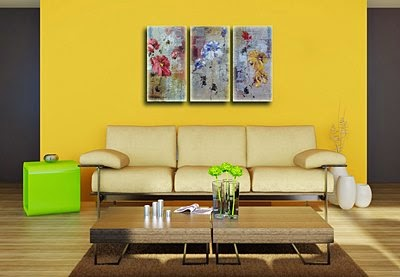 Living Room Wall Decor   Original Wall Paintings