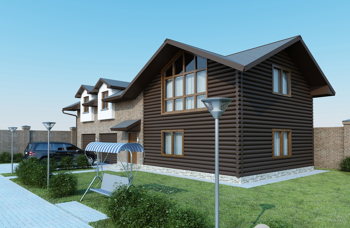 3d front max v ray result 3d house view for 3d view of house