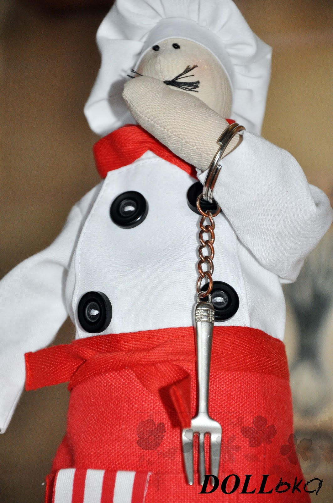 Тильда поварёнок текстильная игрушка ручной работы