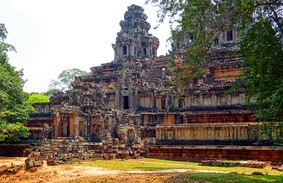 Temple at Angkor Thom