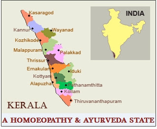 Homoeopathy and Ayurveda systems in all the panchayats of Kerala