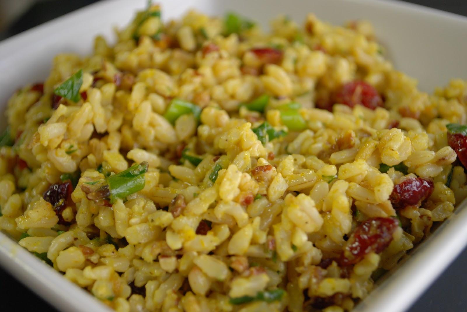 Curry Rice Salad Recipe — Dishmaps