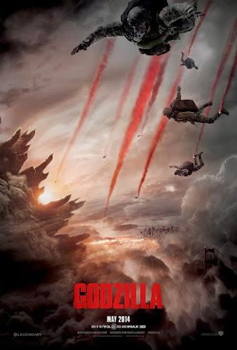 Descarga Godzilla DVDRip Latino [2014][MG] (2014) 1 link Audio Latino