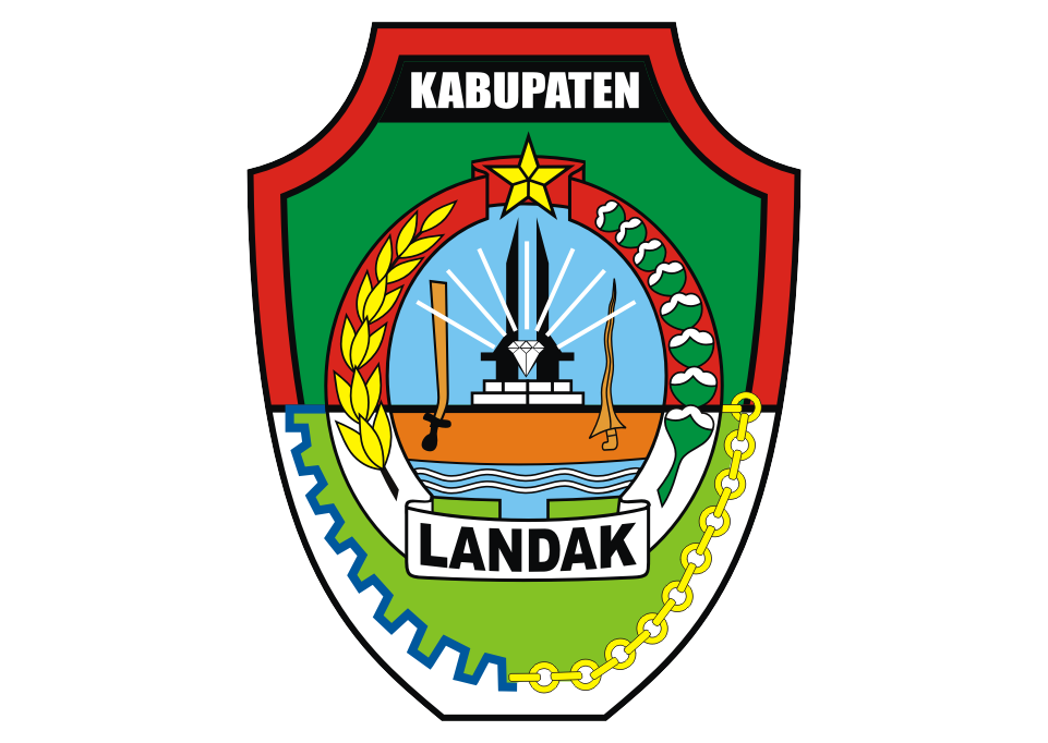 Logo Kabupaten Landak Vector download free